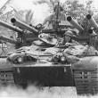 M50 Ontos Tank and 2 Marines