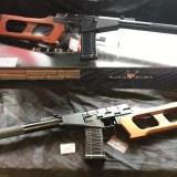 King Arms フルメタル電動ガン VSS リアルウッドとAS Valが入荷。