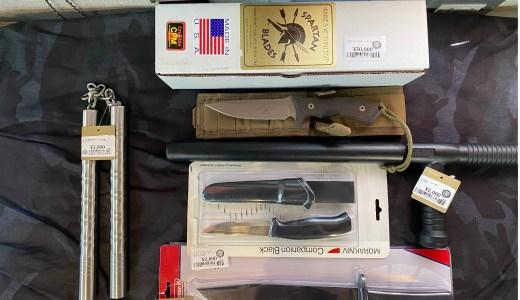 中古ナイフ、トイガン入荷しました。