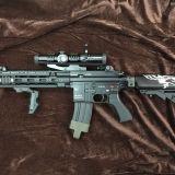 東京マルイ HK416 デルタカスタム 次世代電動ガンの修理をさせて頂きました