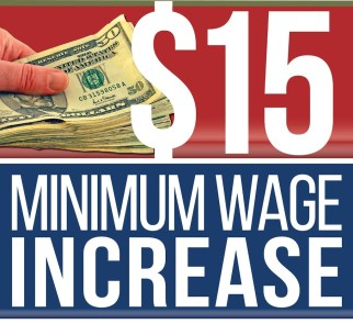 Image result for Minimum wage $15