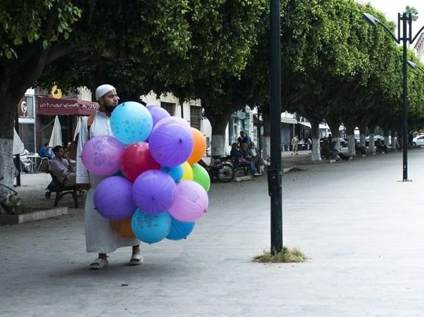 Marchand ambulant à Rabat