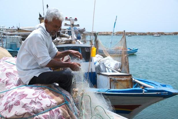 Pêcheur de Kerkennah