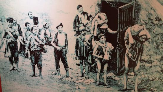 Enfants de la mine