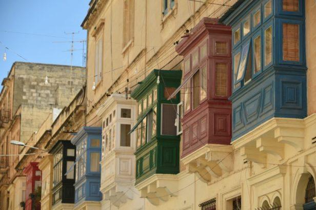 Bow windows de toutes les couleurs