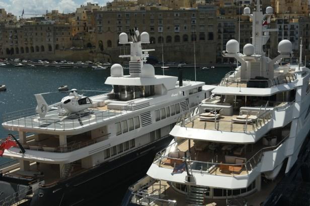 Yachts à Malte
