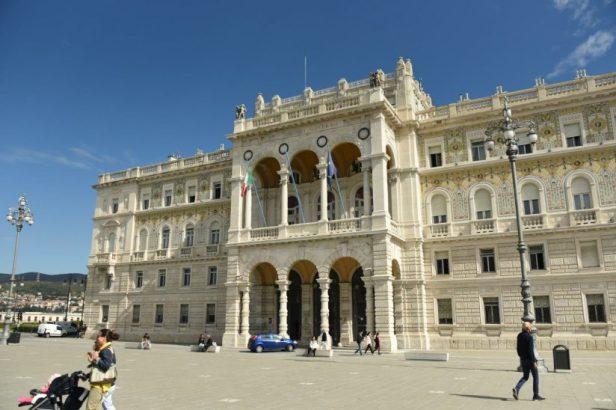 Palazzo del governo, à Trieste
