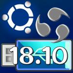 Live USB『Ubuntu Budgie 18.10』…変更や設定も保存可能!