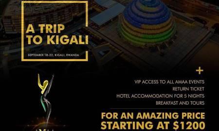AMAA Kigali ticket