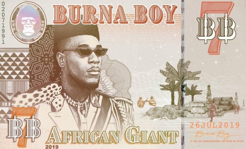 African giant by burna boy grammy awards angelique kidjo