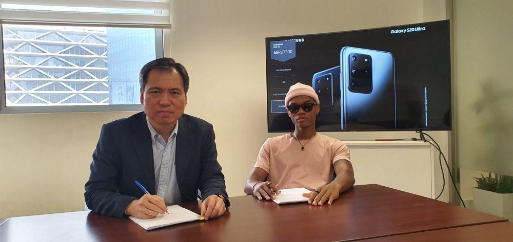 kidi signed as samsung brand ambassador