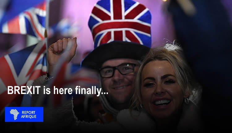 brexit britain leaves european union, boris johnson, uk leaves eu