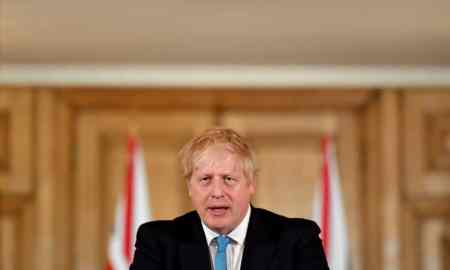 boris johnson uk prime mister coronavirus symptoms