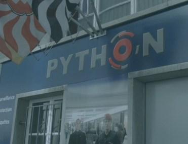 Christian Python - Reportage dans les locaux de Python Sécurité