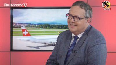 André Schneider Directeur General de Geneve Aéroport - Plateau TV