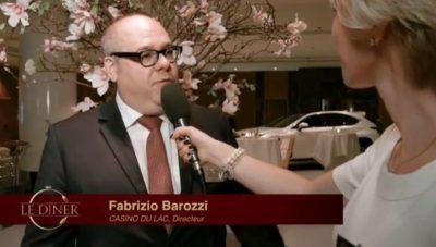 Le Diner des élites - Suisse Romande - Hotel Wilson Fabrizio Barozzi