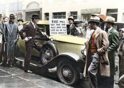 crise de 1929 - krach de 29 - effondrement economique -5