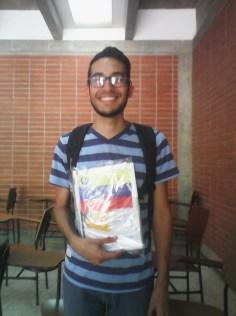 Robert Molina, intercambista con destino a Colombia