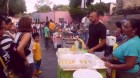 Puesto de Buñuelos de Pan del Año en Vive la Asunción