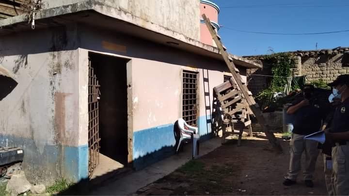 Fotografía: Celda en donde estaba detenida Keyla Martínez