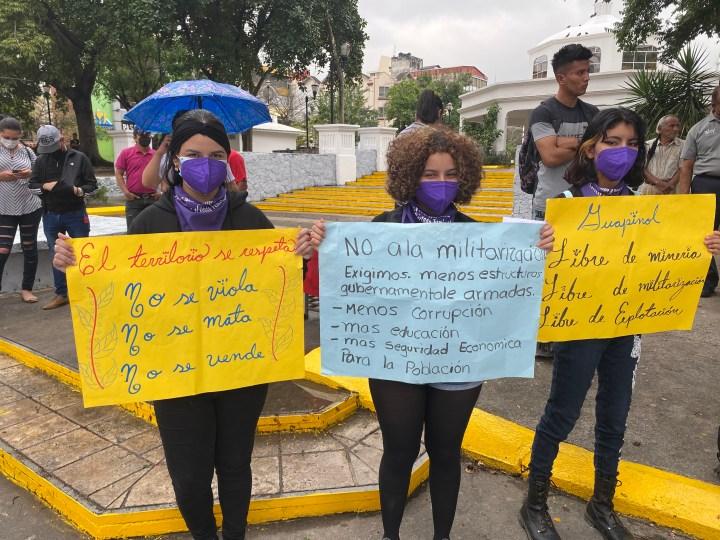 Conmemoración del Día de la Mujer Internacional en San Pedro Sula. Foto: Reportar Sin Miedo