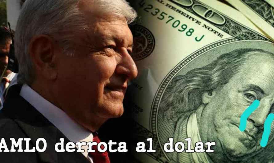 AMLO Baja el precio del Dolar a $21.50