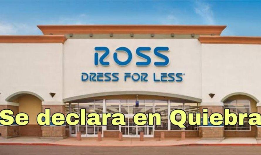 Ross se declara en quiebra por falta de clientes de Fronterizos