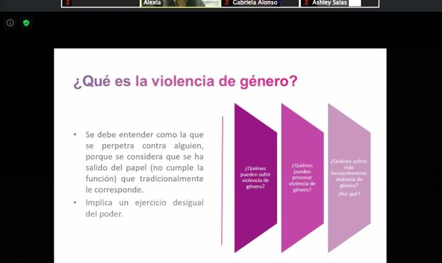 Segundo Festival Fronterizo de Salud Emocional, violencia de género