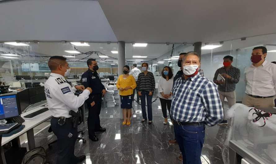 Visitan regidores de la Comisión de Seguridad Pública el CERI