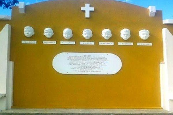 'Siete cabecitas' lugar de homenaje donde lloran los niños decapitados