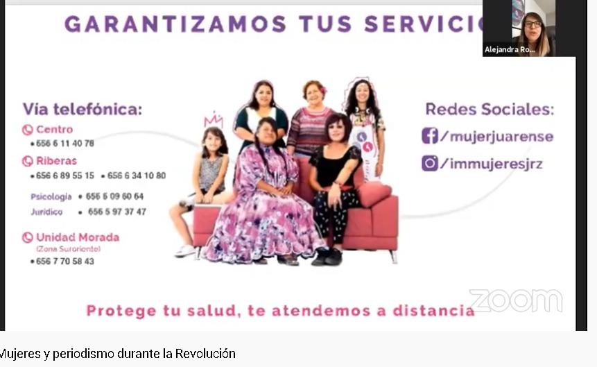 Jornadas culturales INAH, Instituto Municipal de las Mujeres participa en ellas