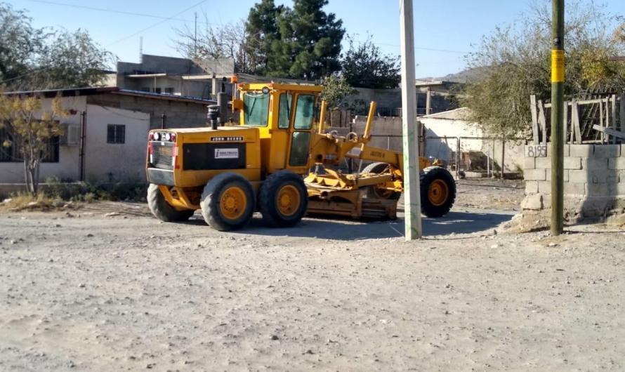 Municipio, brinda mantenimiento a zonas con terracería