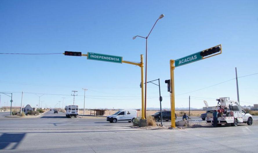 ¡Semáforos nuevos! evitarán accidentes y mejor circulación