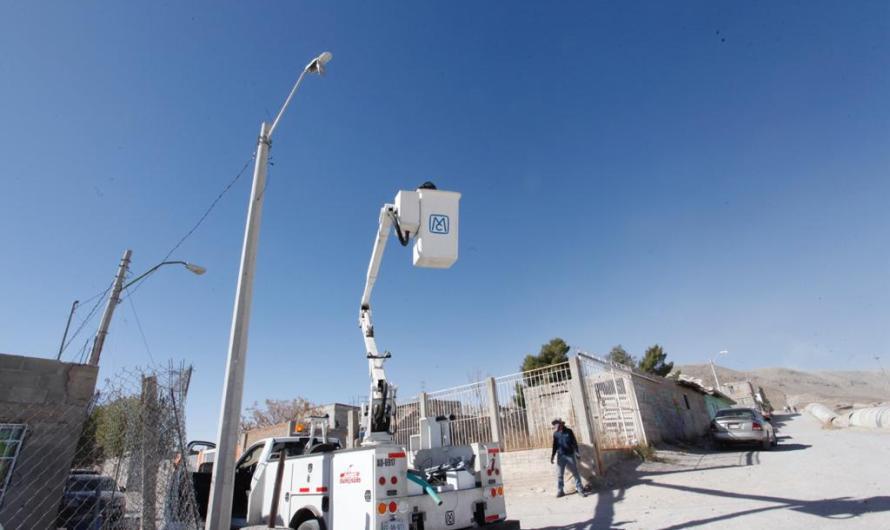 Y ¡se hizo la luz! en algunas partes de Ciudad Juárez