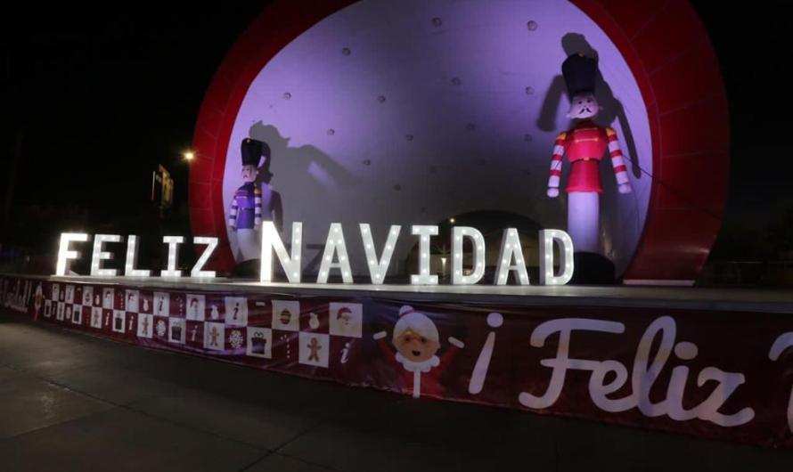Plaza de la Mexicanidad. ¡Llegó el espíritu navideño!