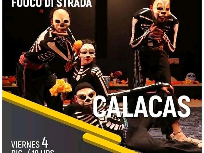 23 Festival de la Ciudad hoy, en escena «Calacas» espectáculo de circo contemporáneo