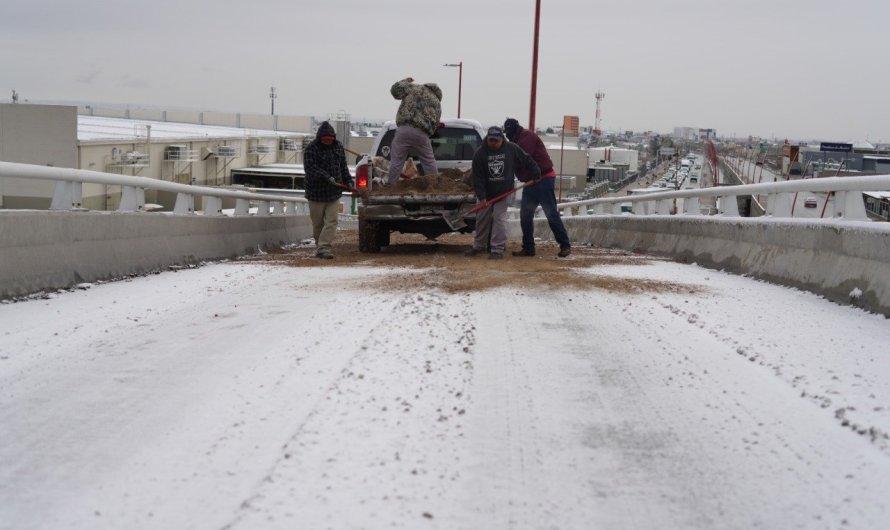A RELLENAR EL TANQUE, -5ºC y nevada el Domingo