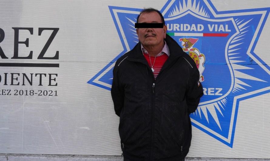 CIUDAD JUÁREZ: Detenido por abuso sexual en el Centro