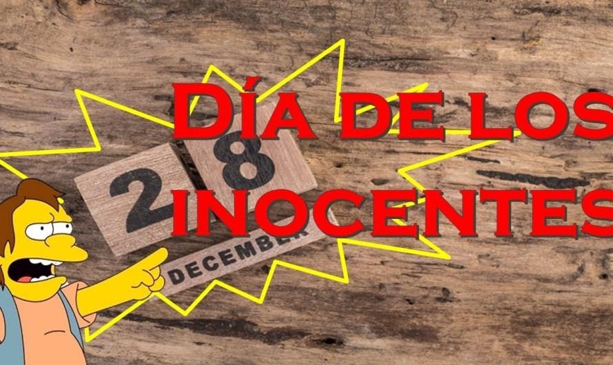 28 de Diciembre, Día de los Inocentes