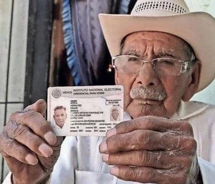 Manuel García es el hombre más longevo del mundo y vive en ciudad Juárez