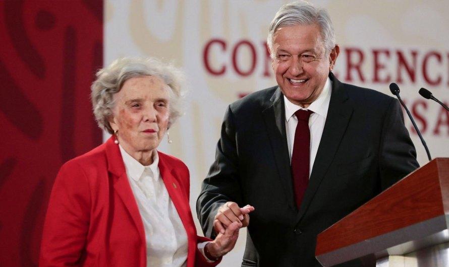 """ELENA PONIATOWSKA: """"Señor Presidente, ya párele con las mañaneras…"""""""