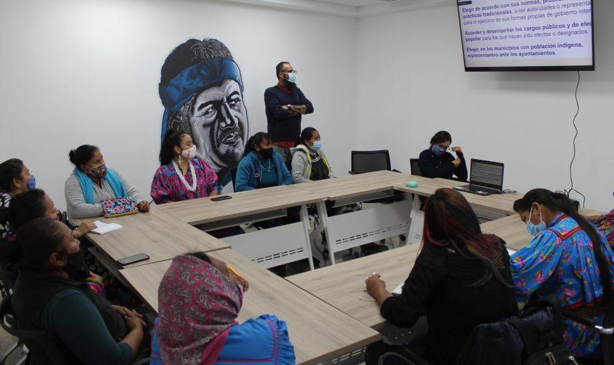 COEPI: Capacitó a indígenas sobre derecho a la participación política electoral