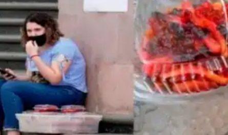 estudiante vende gomitas para ir a la nasa