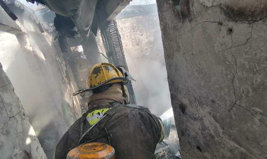 Héroes sin capa hoy extinguieron cuatro incendios
