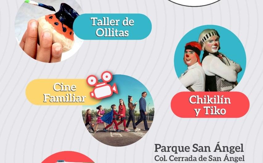 Reinicia hoy el programa «Cultura en Movimiento» en Parque San Ángel