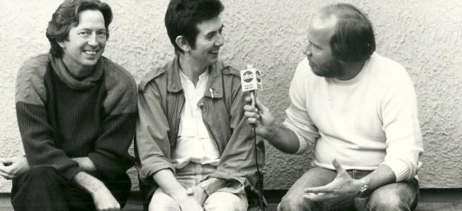 Eric Clapton, Ronnie Lane, Mark Scheerer