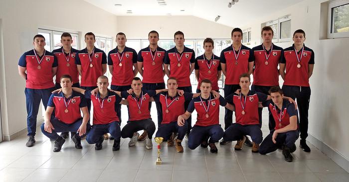 Juniori Vaterpolo kluba Radnički Kragujevac