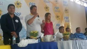 Presidente Estadual do Partido, Jorge Rezende enfatizou a coragem e comprometimento da pré-candidata