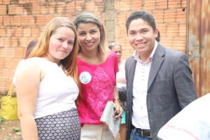 No município o nome de Simone Moras é bem visto pela comunidade