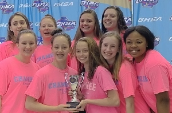 The Chamblee Lady Bulldogs finish as the Class 4A/5A state runners-up. (Courtesy photo)